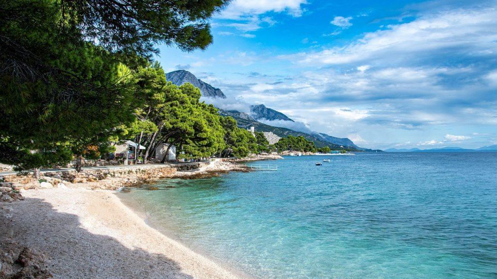 horvát tengerpart