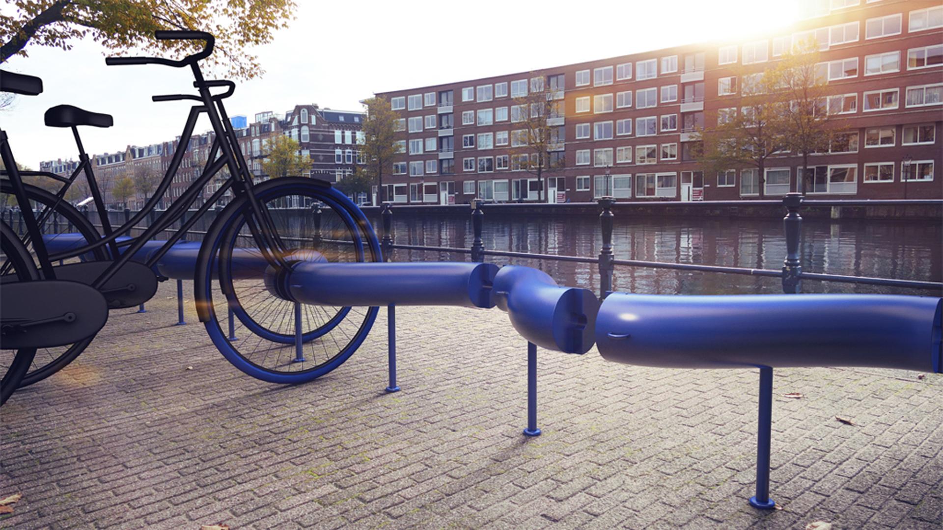 Ez a bringatároló egyben energiaforrás is