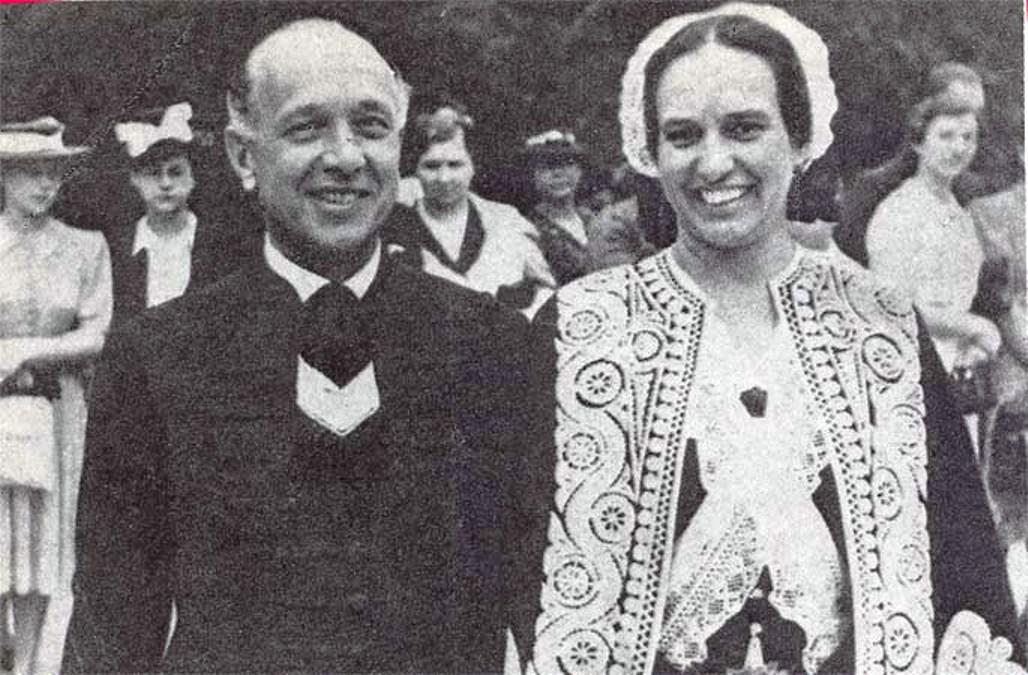 Zsindely Ferenc államtitkár és felesége Tüdős Klára (fotó: Wikipedia)