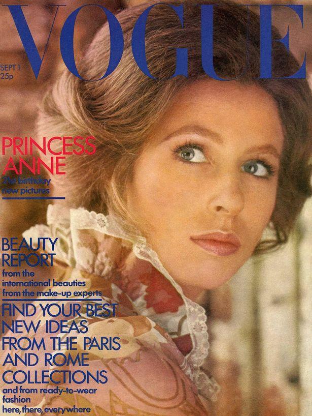 Anna hercegnő a Vogue címlapján
