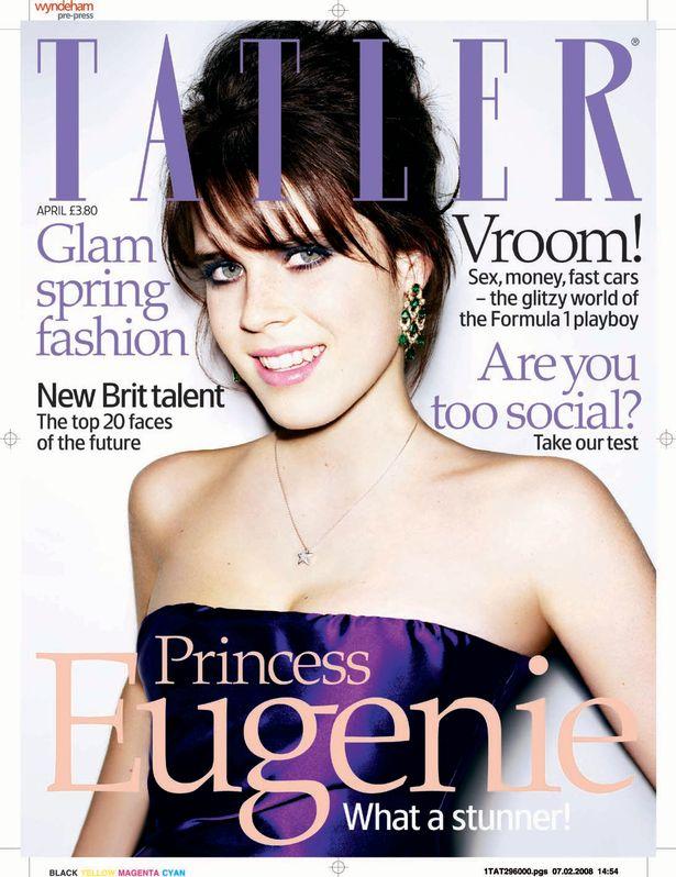 Eugénia hercegnő a Tatler címlapján