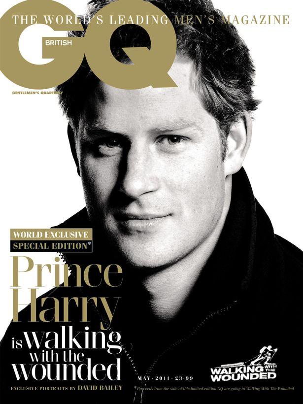 Harry herceg a GQ címlapján