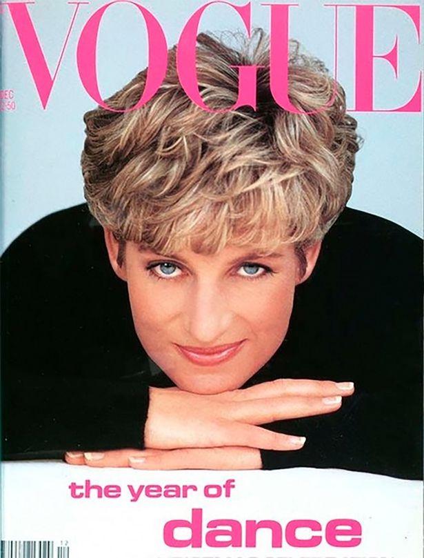 Diana hercegnő a Vogue címlapján