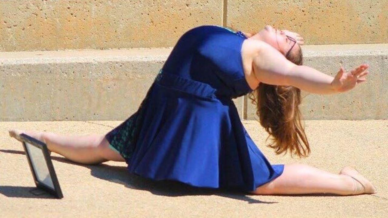 Lizzy Howel, tánc, túlsúly