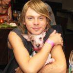 Steiner Kristóf és kutyája