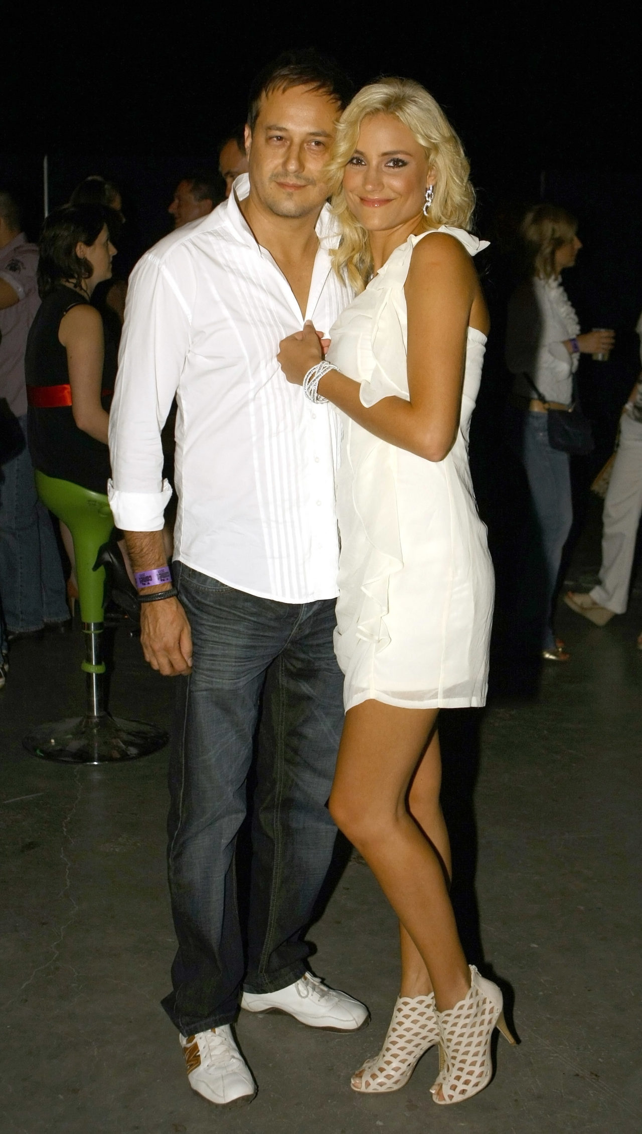 Som-Balogh Edina férjével
