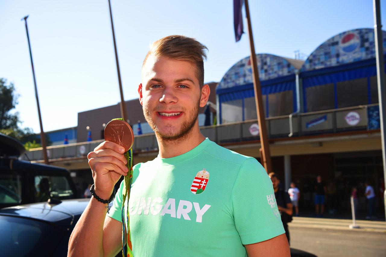 Kenderesi Tamás, úszó a riói olimpia után