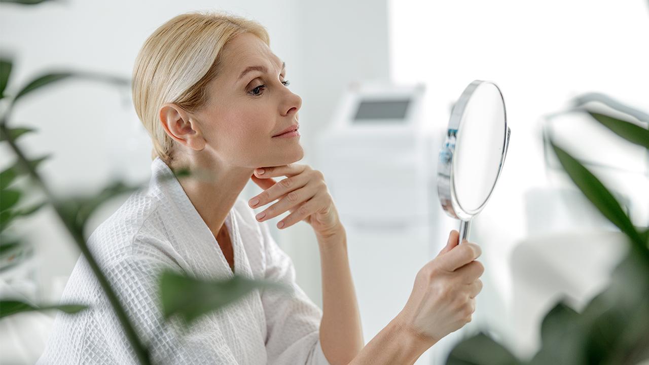 arcápolás érett bőr