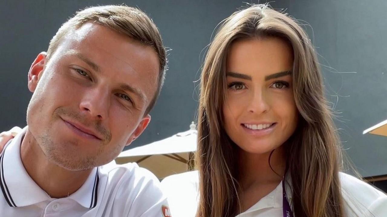 Böszörményi Anett és Fucsovics Márton Wimbledonban