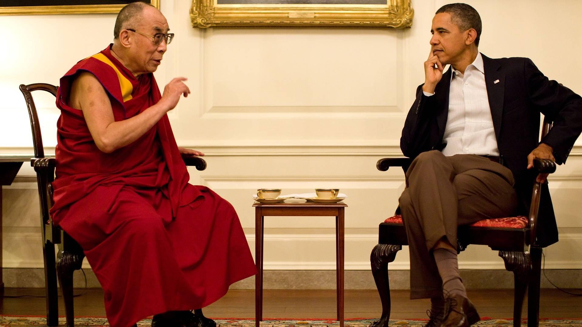 dalai láma és Barack Obama