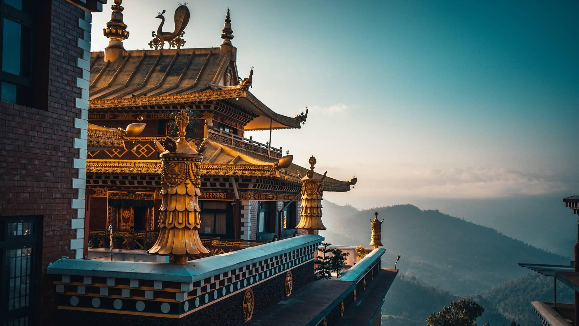 buddhista kolostor Nepálban