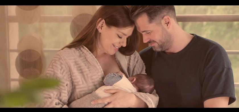 Dér Heni új klipjében a férje és a kisfia is szerepeltek