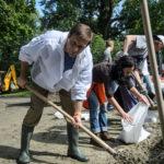Politikusok a 2013-as árvíz idején