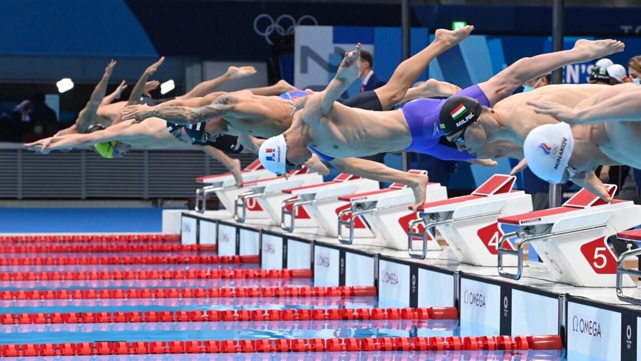 Ötödik lett a 4x100 méteres férfi gyorsváltó