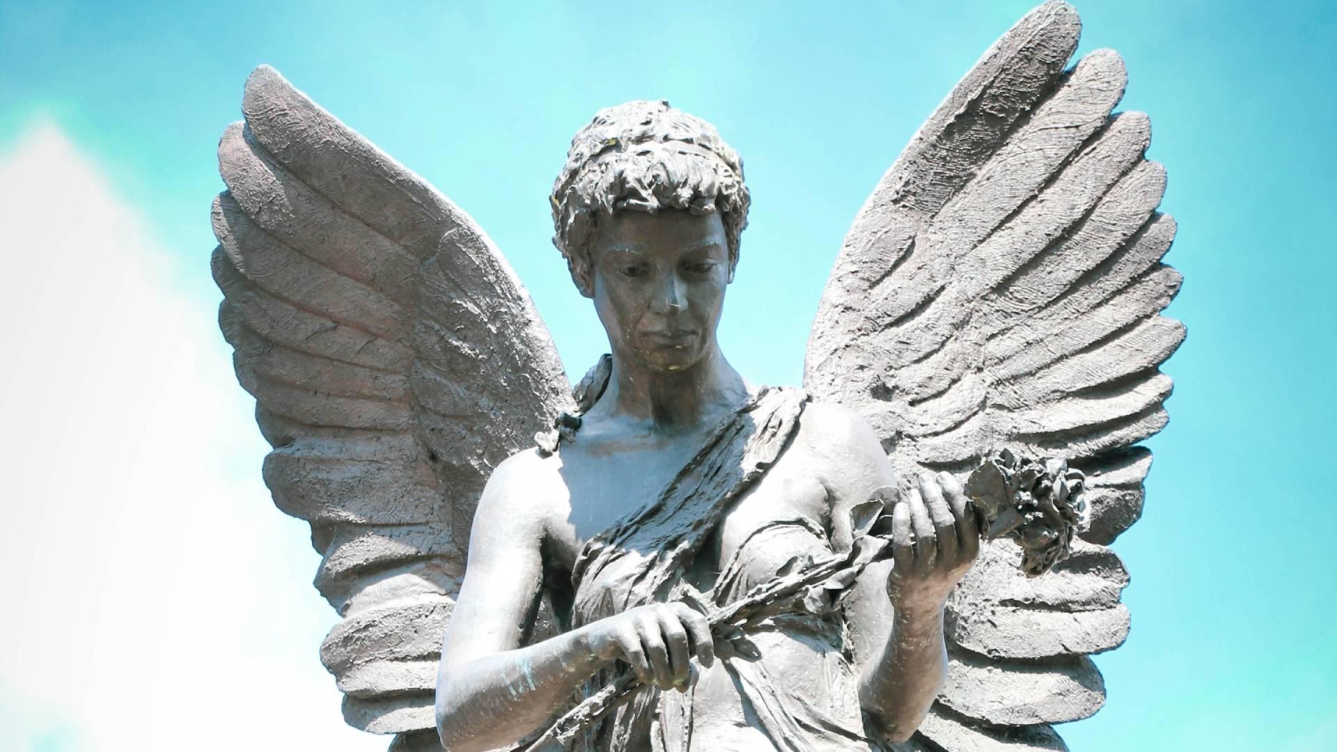angyal szobor