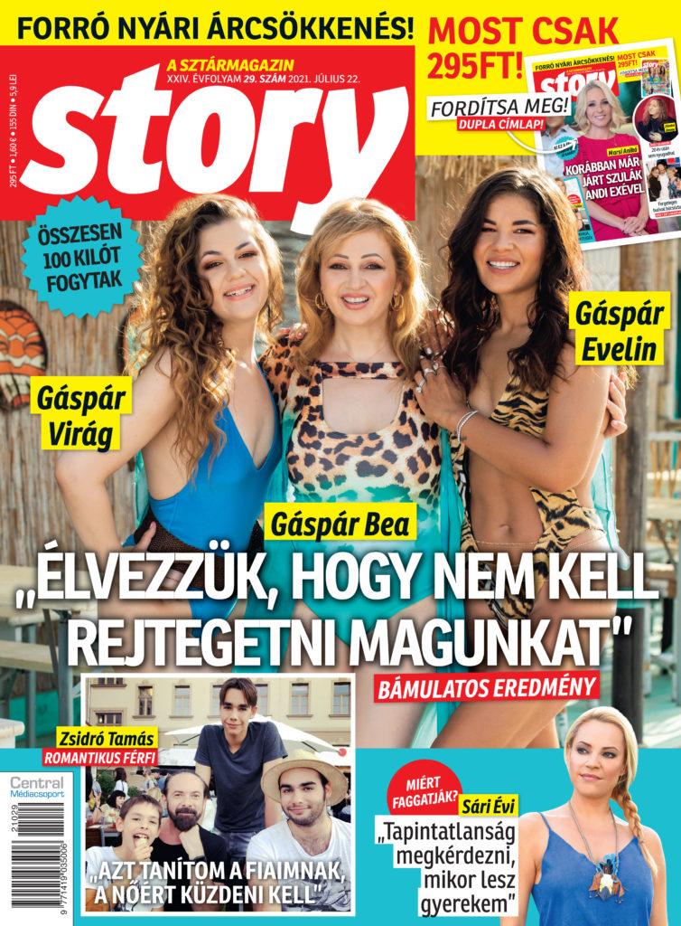 Fürdöruhás címlapra mondott igent Gáspár Bea és két lánya, Evelin és Virág