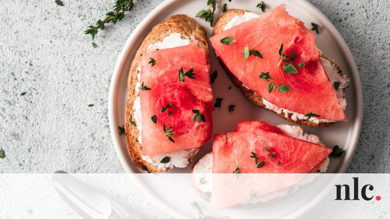 Dinnye kenyérrel: a nagyszülők főételnek ették, manapság már ínyencségnek számít