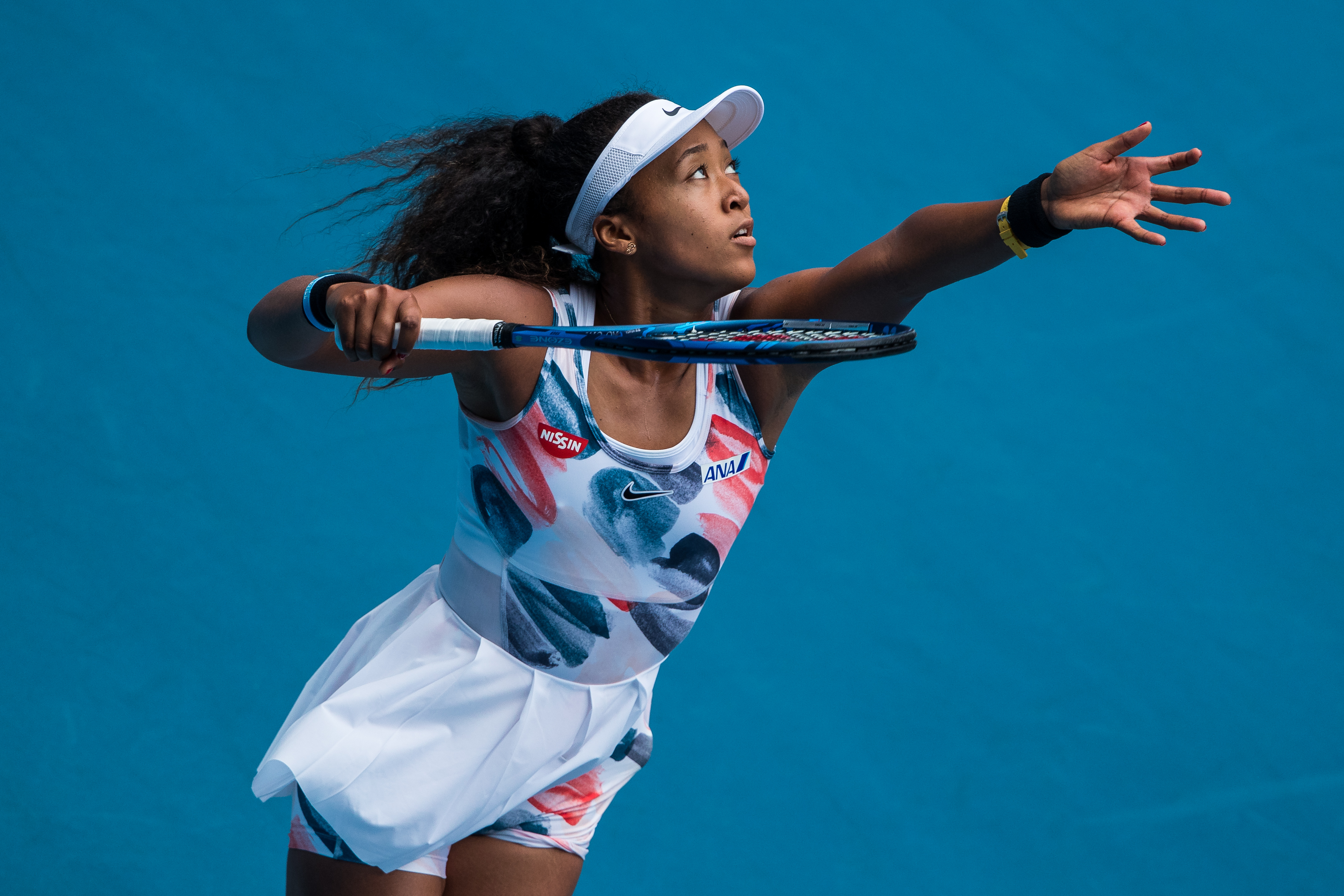 Naomi Osaka tavaly Melbourne-ben (Photo by Chaz Niell/Getty Images)