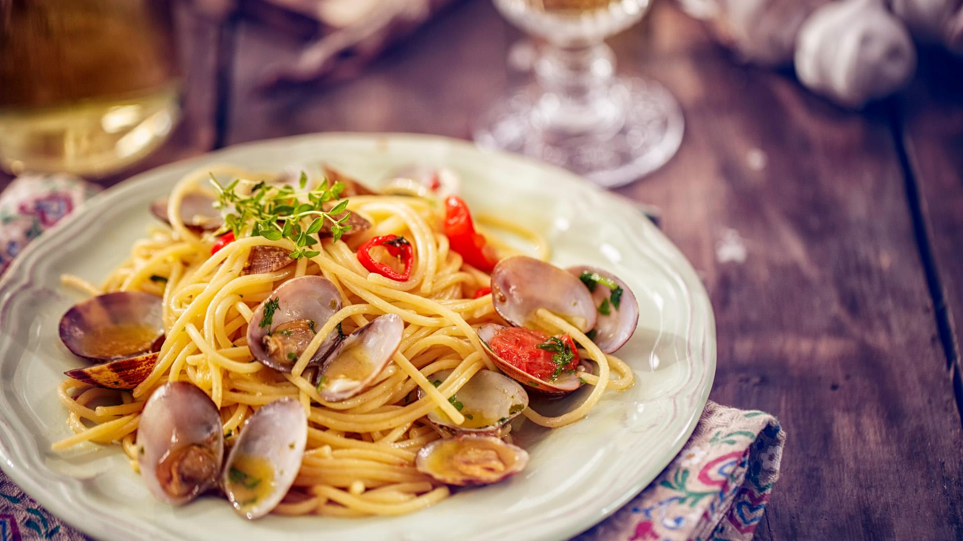 Íme a nyár umami íze, a spagetti vongole!
