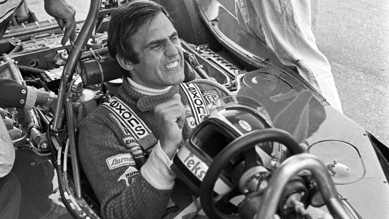 Carlos Reutemann 1977-ben (Photo by Bernard Cahier/Getty Images)