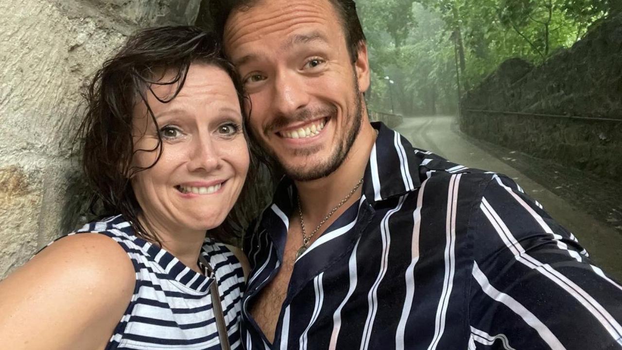 Gömöri András Máté és Polyák Lilla házassági évfordulót ünnepeltek