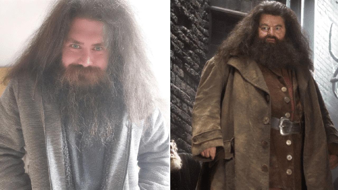 A Hagrid-hasonmás apuka