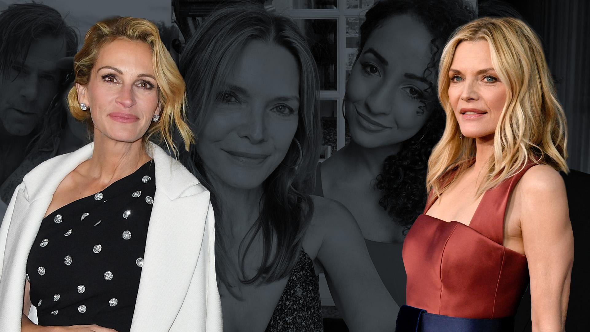 Párhuzamos életek: Julia Roberts és Michelle Pfeiffer