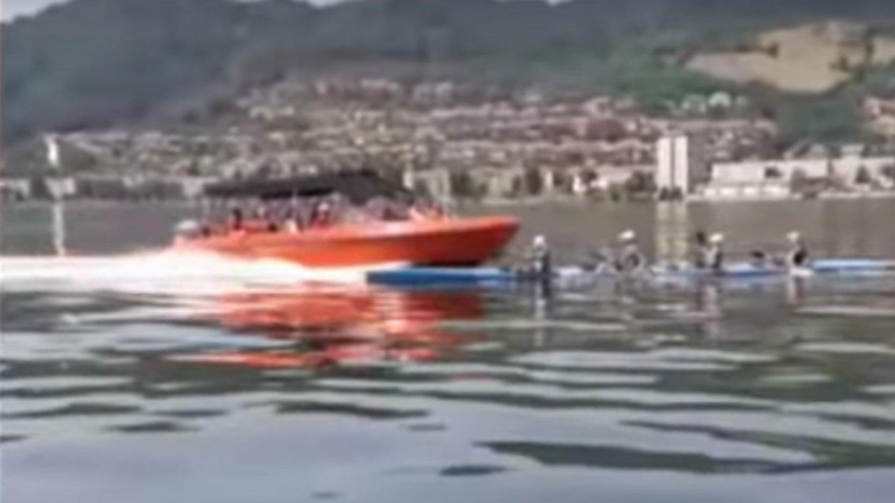 Motorcsónak szelte ketté a kajakot a Dunán