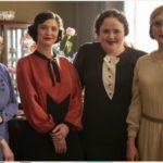 Frici & Aranka című tévéfilmben Böhm Aranka és barátnői (Erdélyi Tímea, Szakács Hajnalka, Balázs Andrea, Eke Angéla)