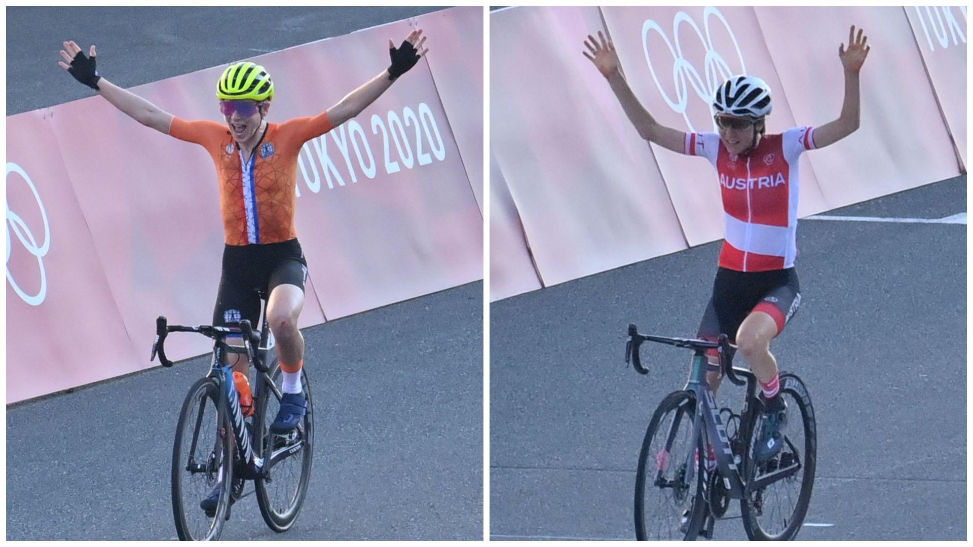 Azt hitte a holland bringás, ő bajnok, csak a célban tudta meg, hogy már elvitték az aranyat