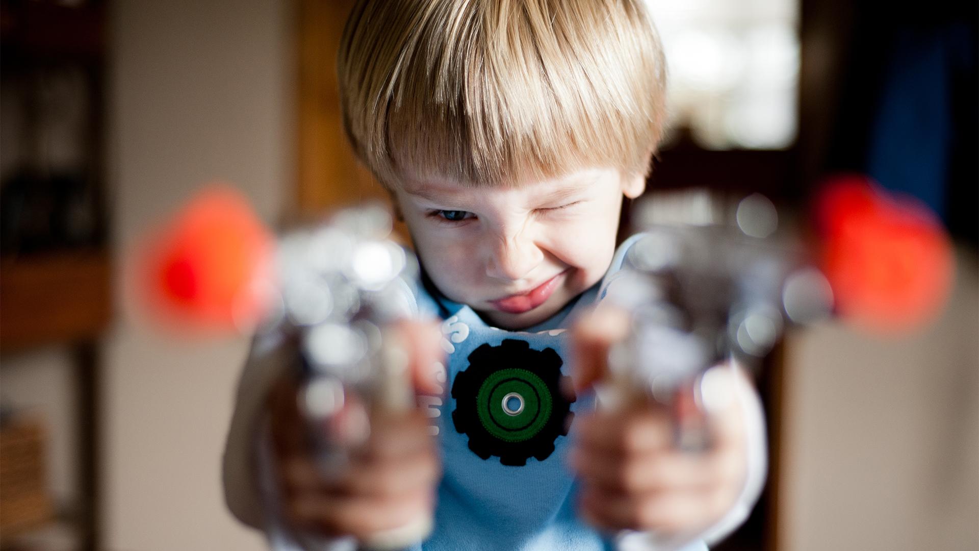 LEGO játékra hasonlító fegyver okozott botrányt az Egyesült Államokban