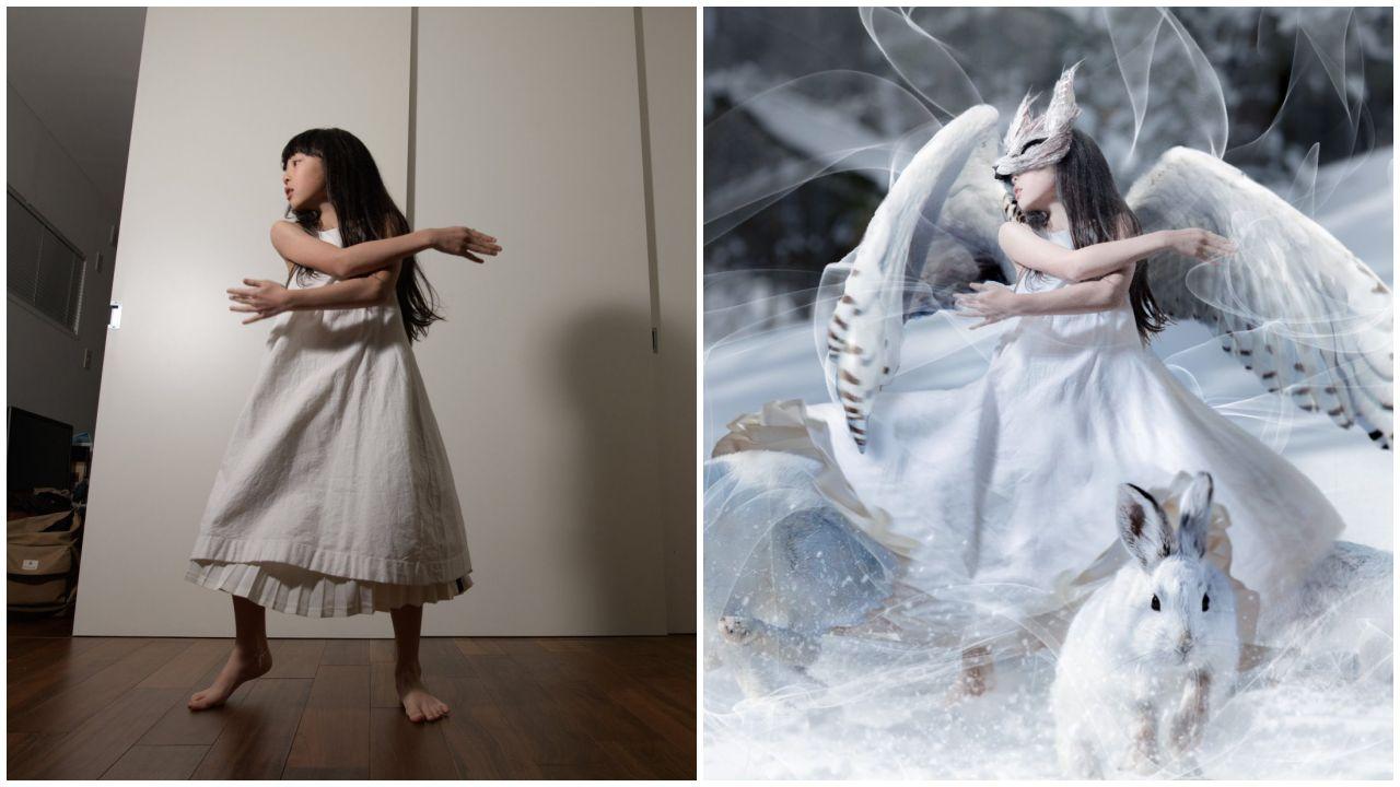 Lenyűgöző mesevilágba varázsolja a kislányát a japán fotós