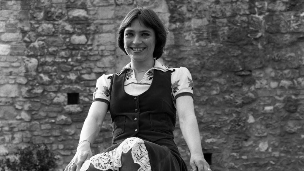 Kovács Kati 1976-ban / Fotó: Fortepan / Urbán Tamás