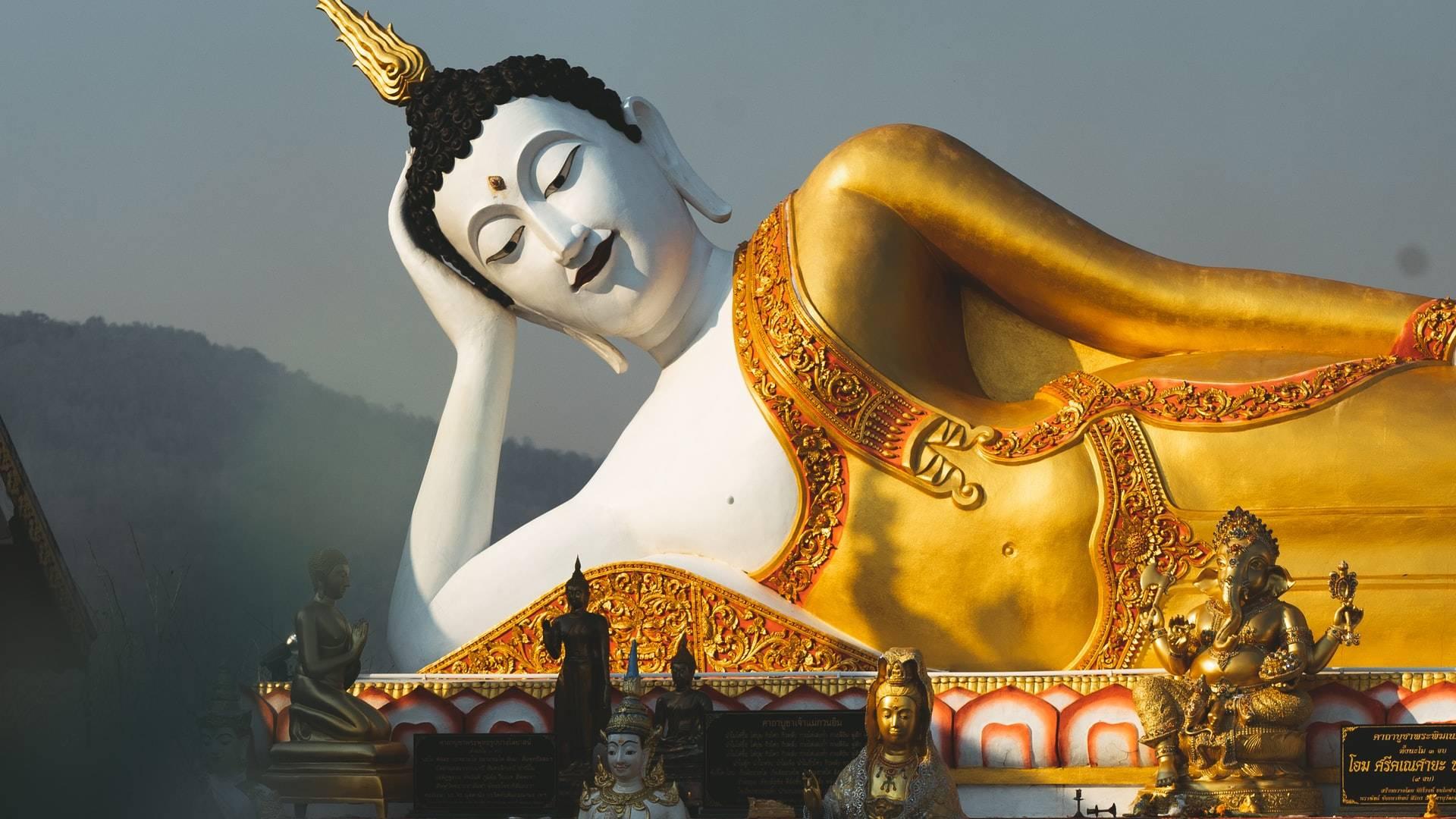 boldog buddha szobor
