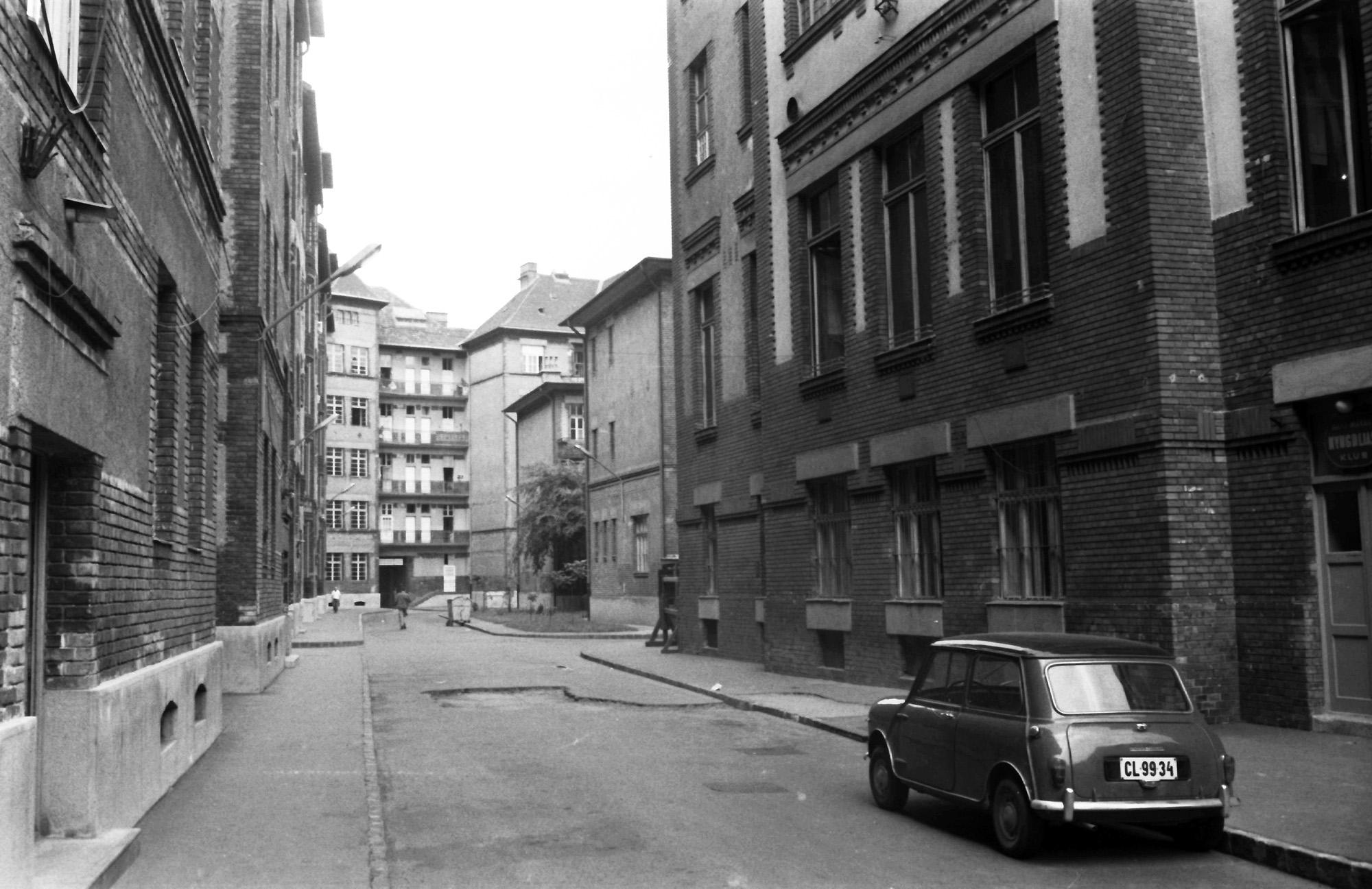 A MÁVAG-kolónai a hetvenes évek elején
