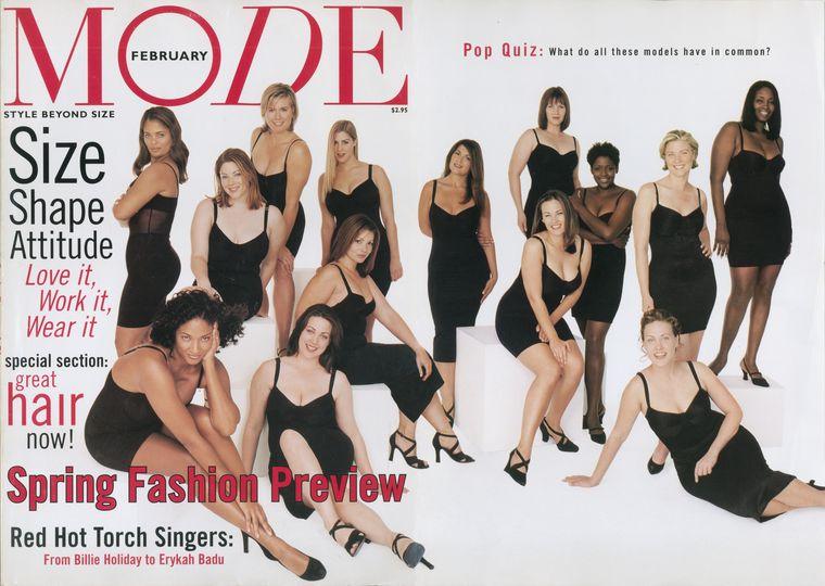 MODE, a 90-es évek plus size magazinja