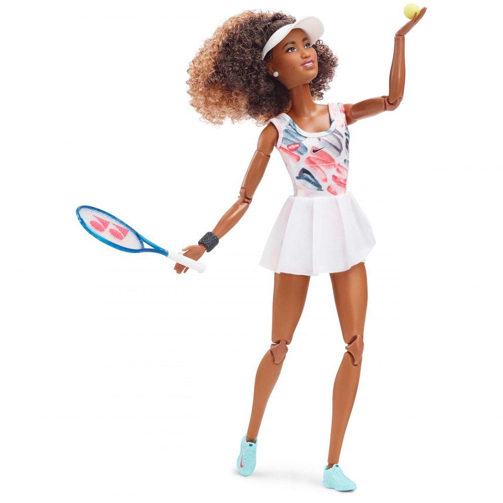 Naomi Osaka Barbie babaként (fotó: Mattel)