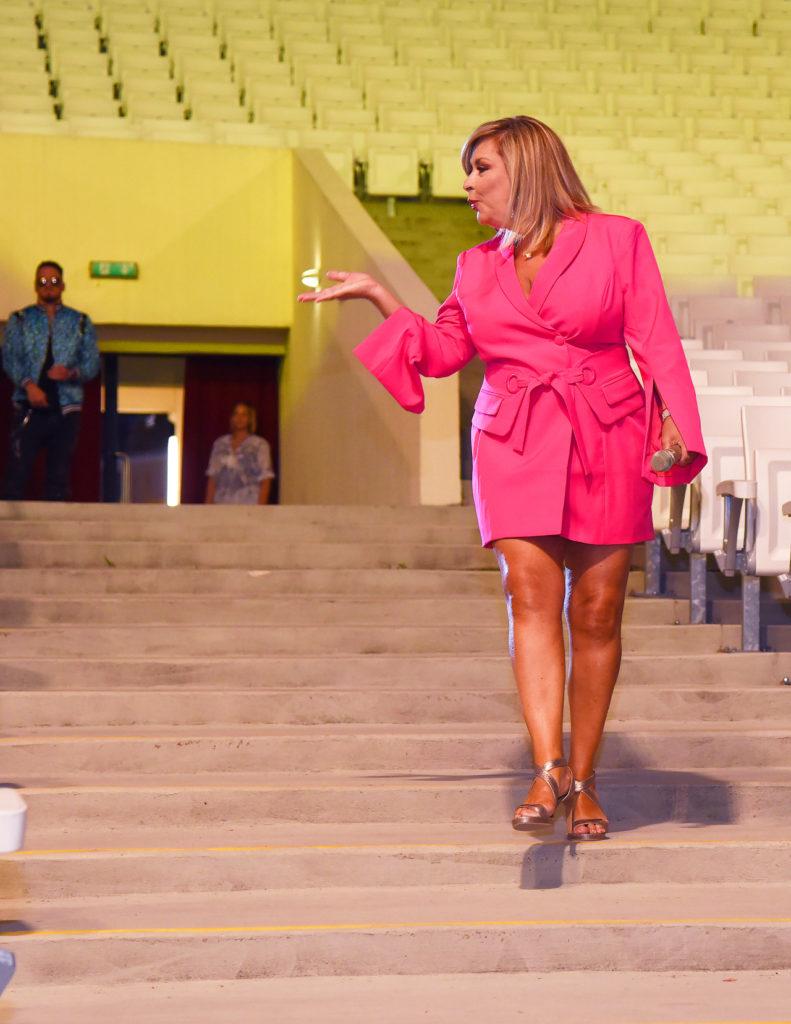 A Csókkirály - a koncert előadás kulisszája a Margitszigeti Szabadtéri Színpadon, Szulák Andrea mesésen nézett ki