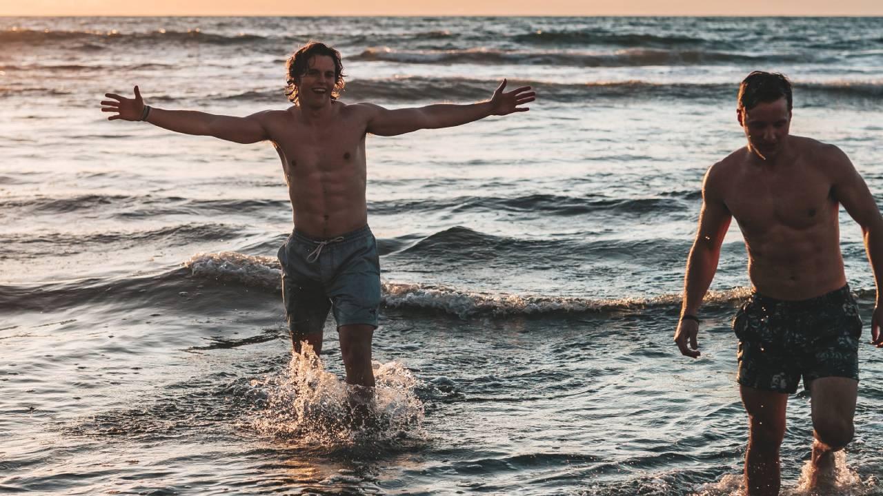 pasik a tengerben
