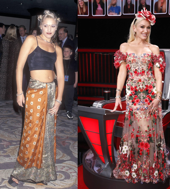 Gwen Stefani akkor és most