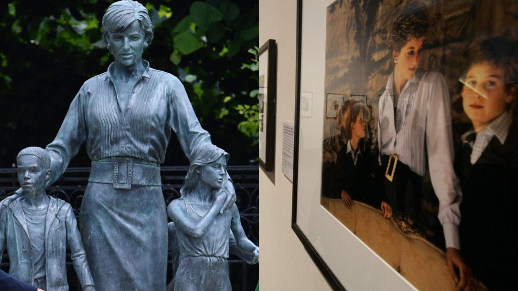 Miről alkották a Diana szobrot?