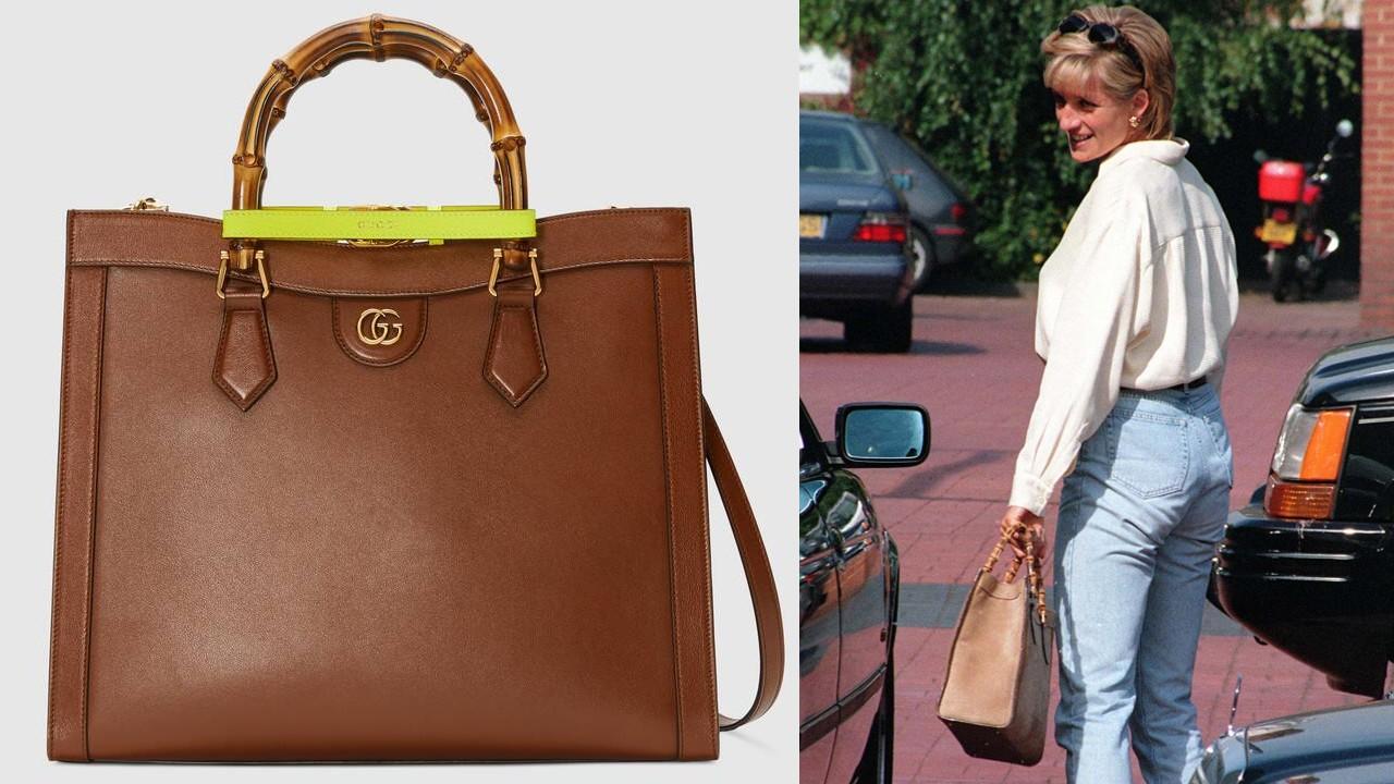Diana hercegnő Gucci táskával