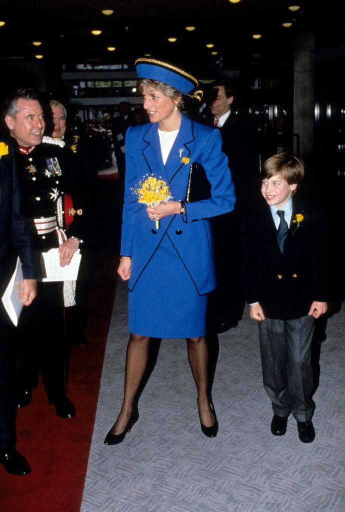 Vilmos herceg itt már valamivel idősebb volt, mint most anagyobb fia Fotó: Getty)
