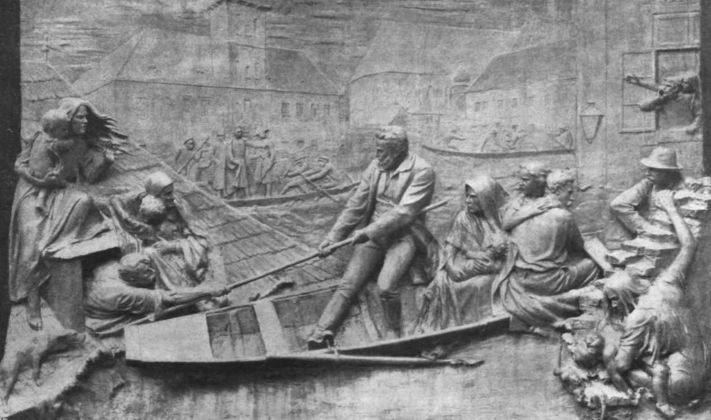 Wesselényi Miklós emléktáblája a Ferenciek terén