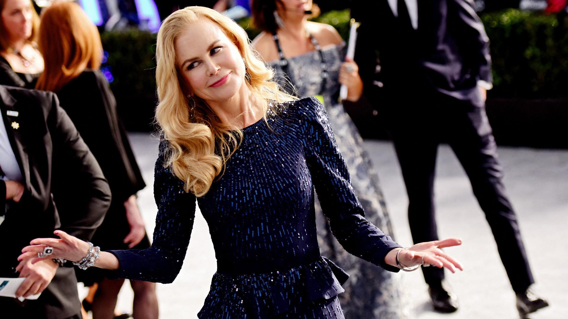 Nicole Kidman 40 évvel ezelőtt és most