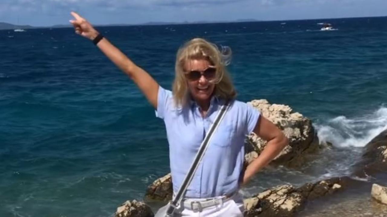 Barta Sylvia a nyaralásról bikinis képeket posztolt