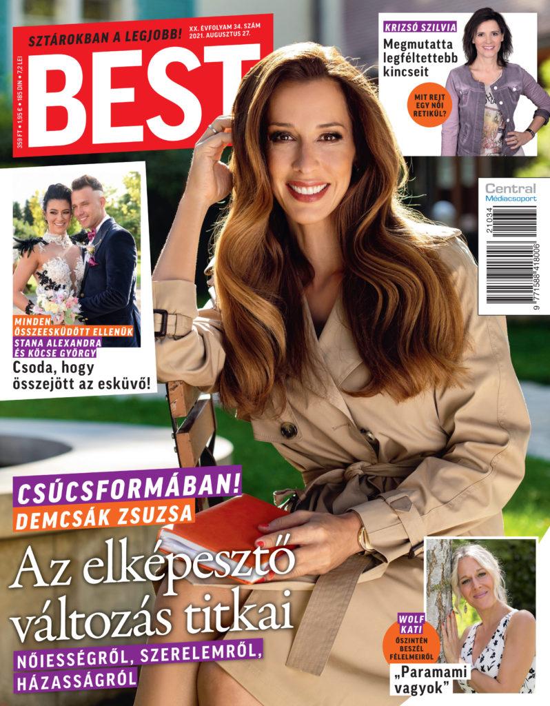 BEST magazin - címlap