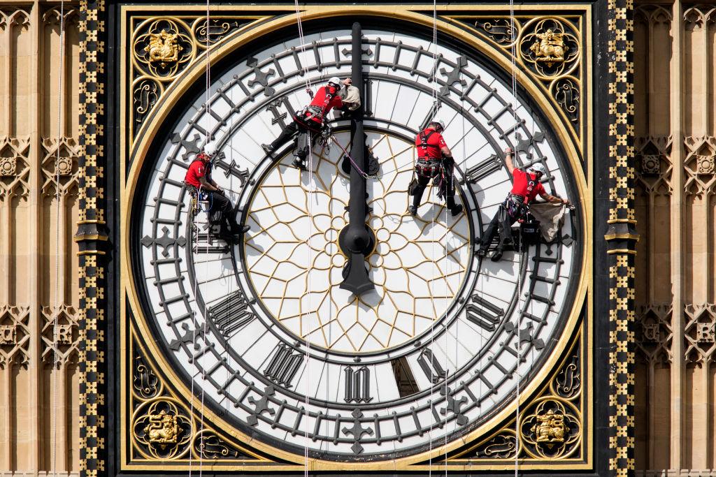 Egy híres kivétel: a Westminster-palota óratornya (fotó: Oli Scarff/Getty Images)