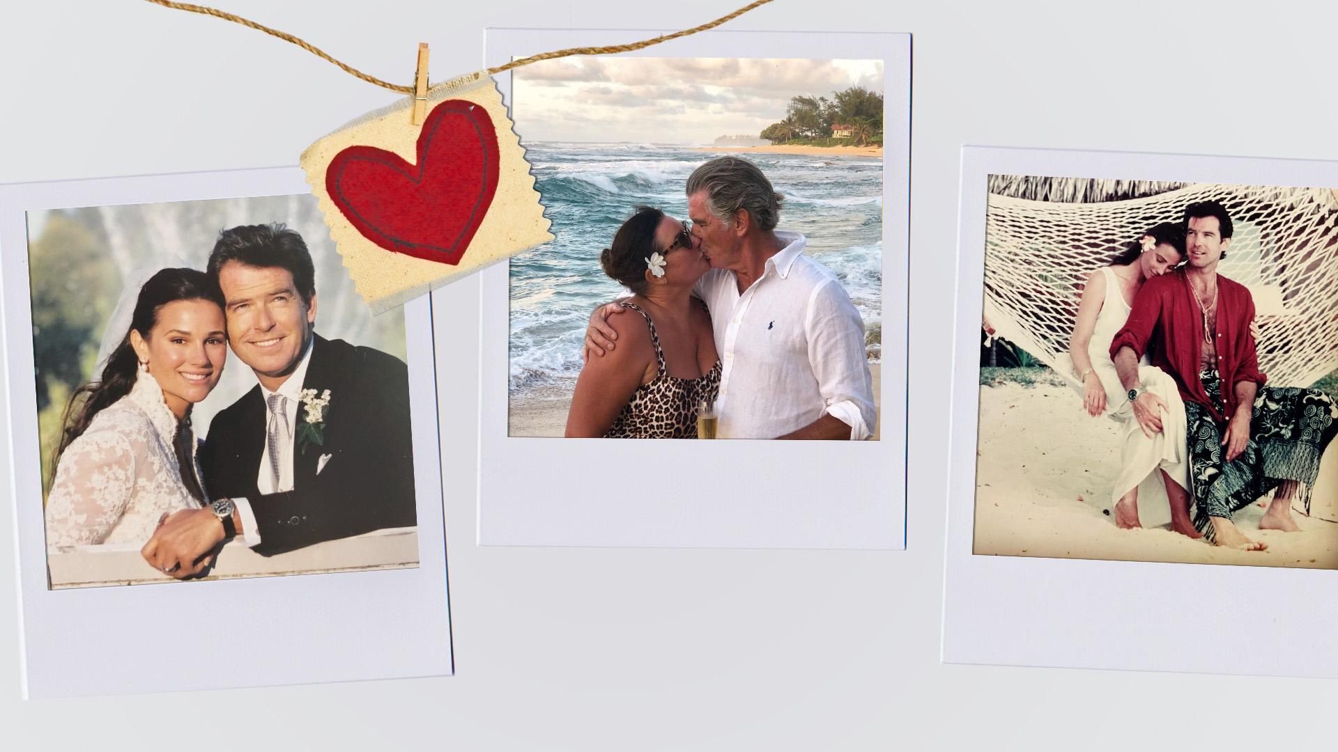 20 éve házas Pierce Brosnan: 20 romantikus fotó