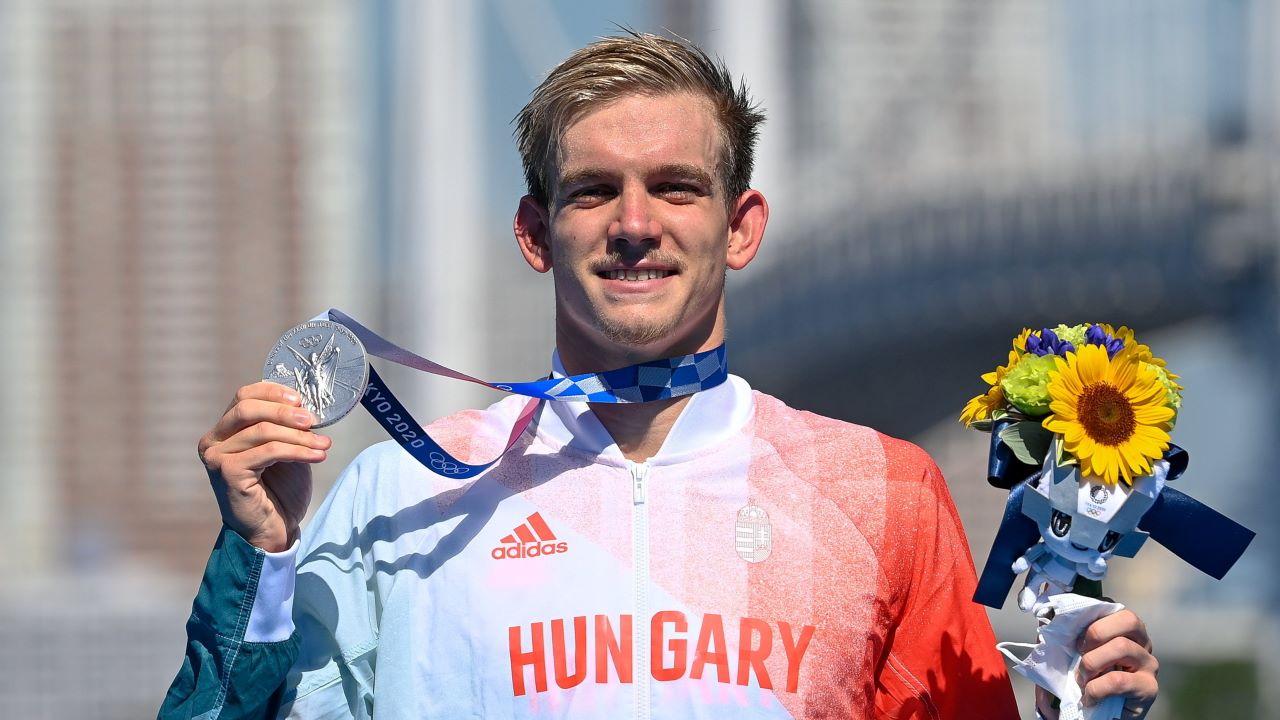Rasovszky Kristóf , ezüstérem, tokiói olimpia